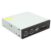 Лицевая панель Front panel ST-Lab E-130, USB3.0 with CardReader, Pin header cable