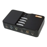 Звуковая карта Sound card ST-Lab M-360, USB2.0, 7.1 Сhannel, optical S/PDIF I/O